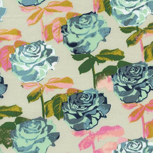 Picnic: Rose Garden (Neutral) - Cotton and Steel