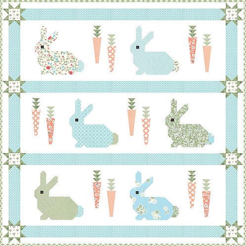 Cottontail Quilt pattern - Lella Boutique