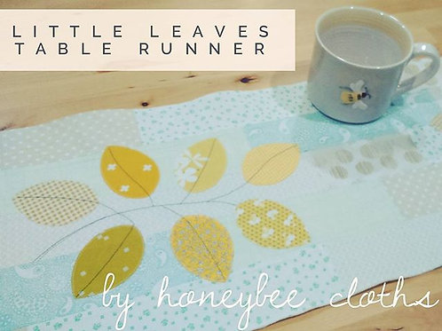 Applique autumn leaves mini-kit
