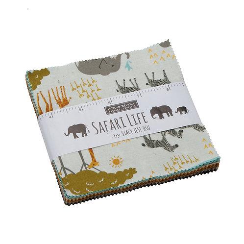 Safari Life Charm pack - Stacy Iest Hsu (Moda Fabrics)