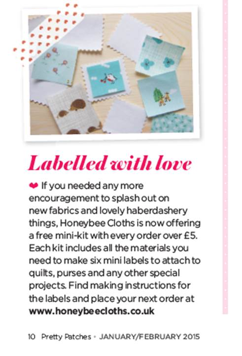 Labelled with love mini-kit
