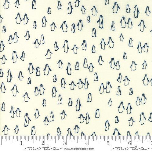 Wintertide: little penguins (Snow storm) - Janet Clare