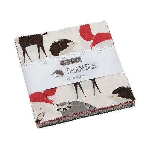 Bramble charm pack - Gingiber (Moda Fabrics)