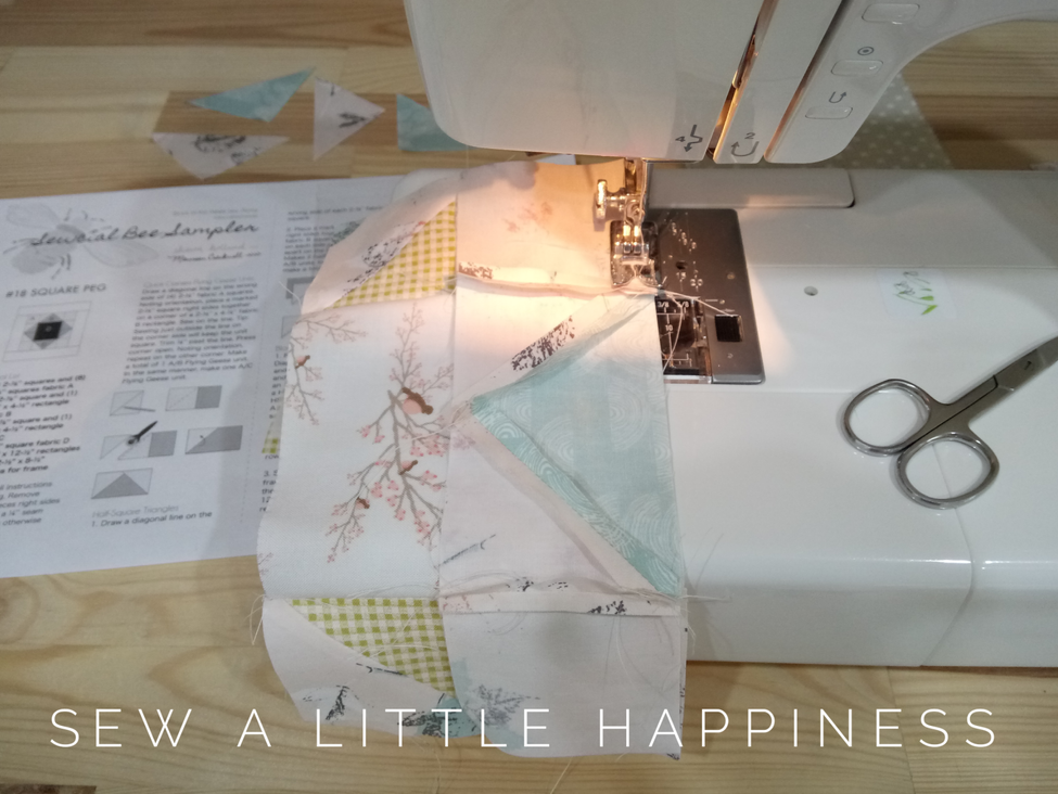 Our mission is to supply the things you need to sew a little happiness