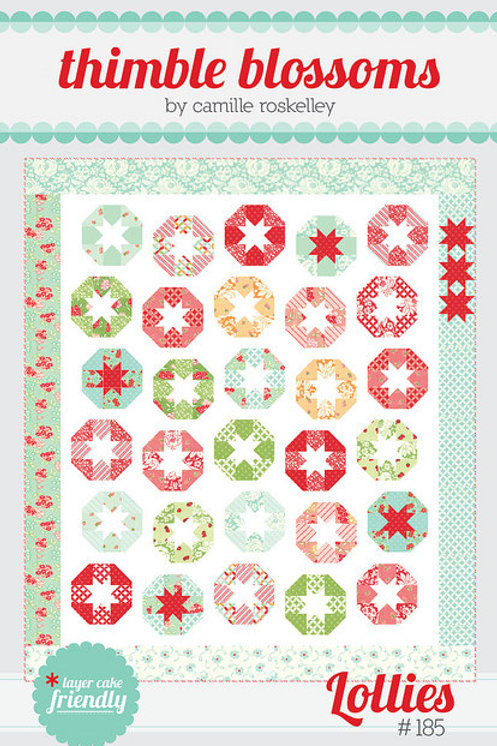 Lollies Quilt Pattern by Thimbleblossoms