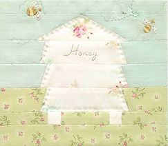 Honeybee Cloths logo _ From our little h