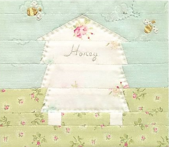 Honeybee Cloths logo _ From our little h