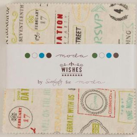 Wishes Charm pack - Sweetwater (Moda Fabrics)