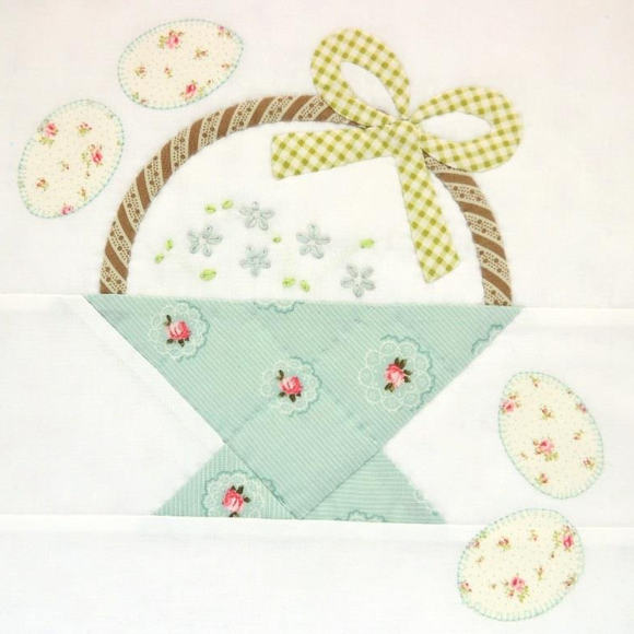 Block 2 - a spring basket for you xx