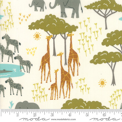 Safari Life 20643-11 - Stacy Iest Hsu (Moda Fabrics)