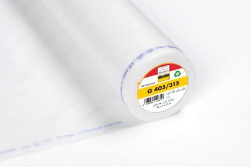 Vilene Iron on Interfacing G405/315 - Medium weight (white)