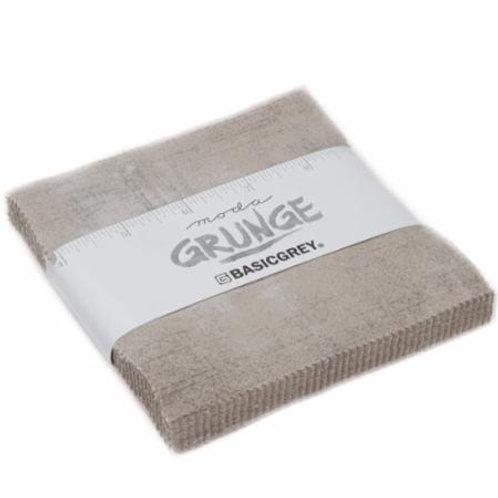 Grunge Gris Charm pack