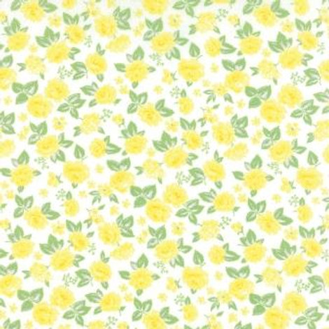 Sew & Sew: Yellow blooms - Chloe's closet