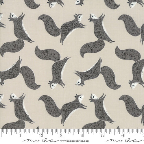 Bramble Squirrel (Grey) - Gingiber (Moda Fabrics)
