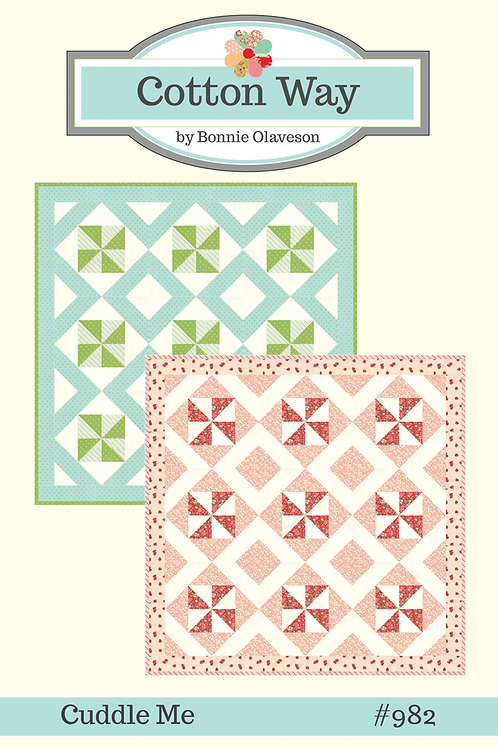 Cuddle Me Quilt Pattern by Cotton Way