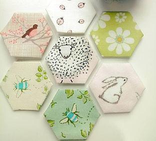 EPP Hexagons - Honeybee_Cloths.jpg