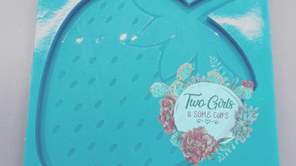 Strawberry Coaster Mold