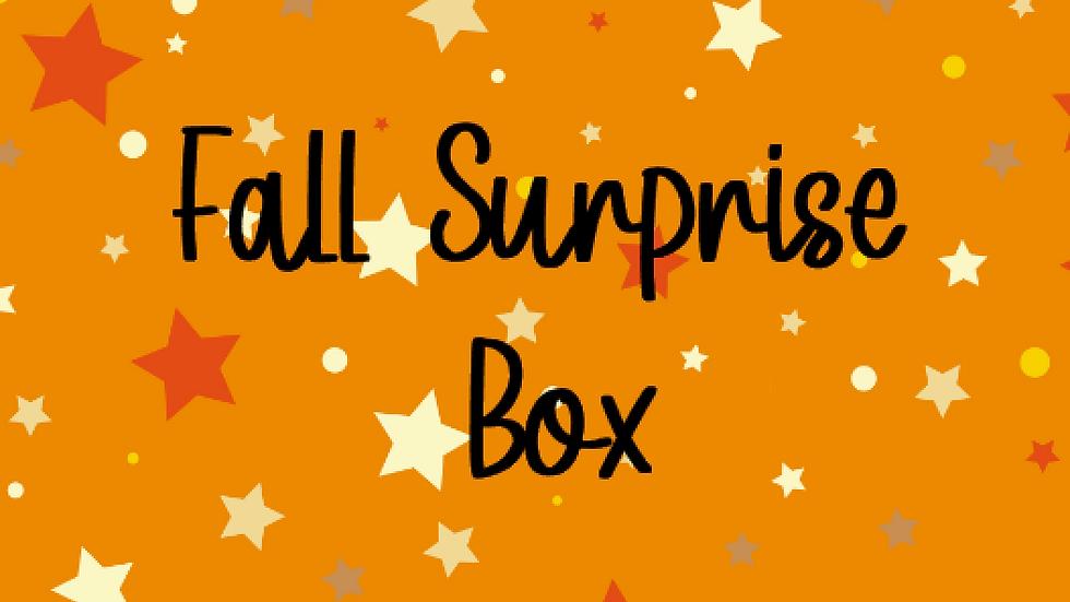 FALL SURPRISE BOX