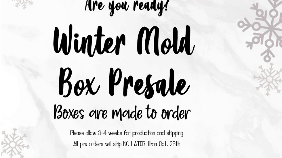 Winter Mystery Mold Box