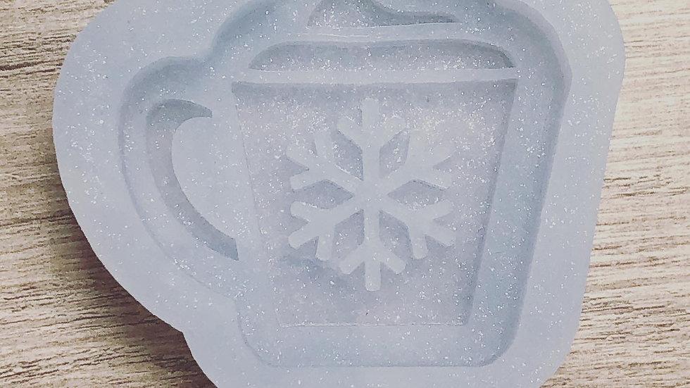 Hot Cocoa Badge Reel/Popsocket Mold