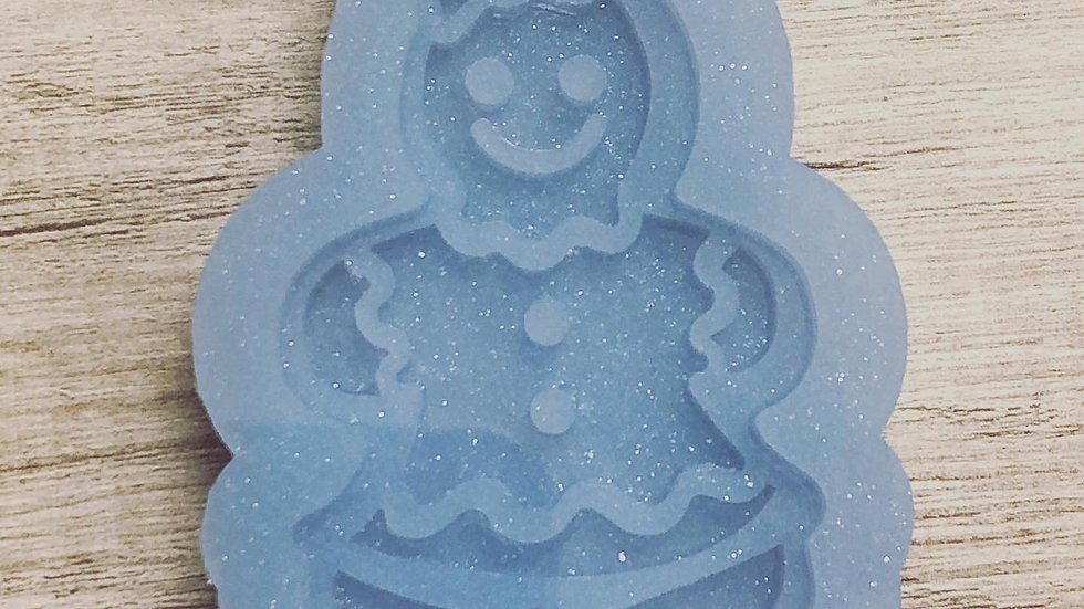 Gingerbread Girl ornament mold