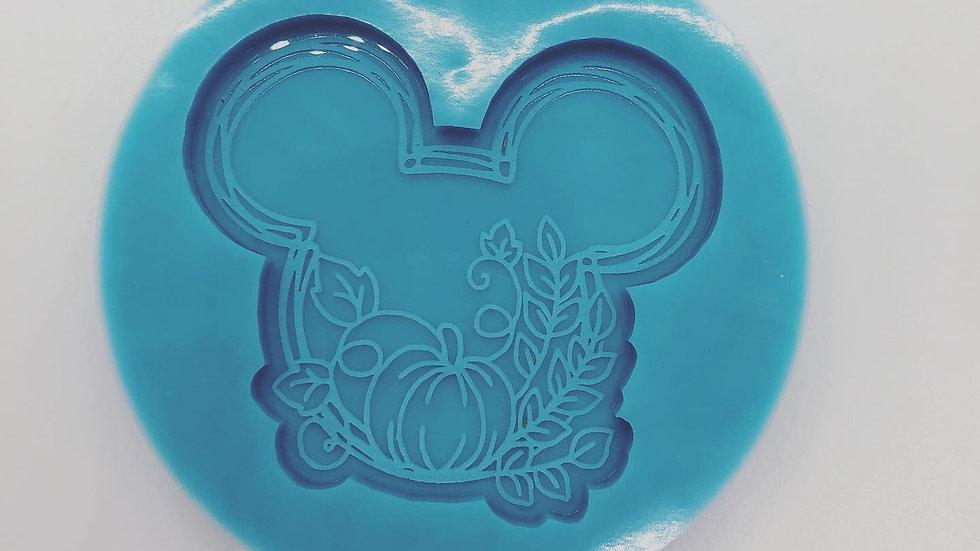 Mickey inspired pumpkin popsocket mold