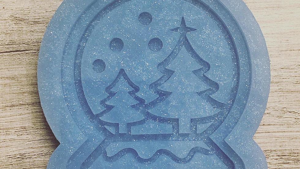 Snowglobe Shaker Ornament Mold