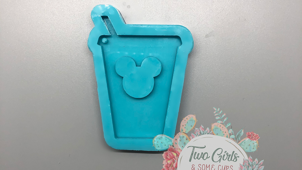 Mouse Drink Keychain Mold