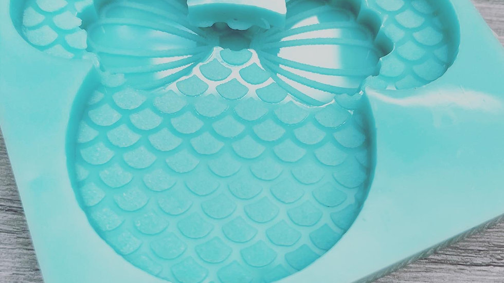 Mermaid Minnie Popsocket Mold