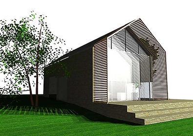 Hemstal_uitbreiding oud huis silhouette