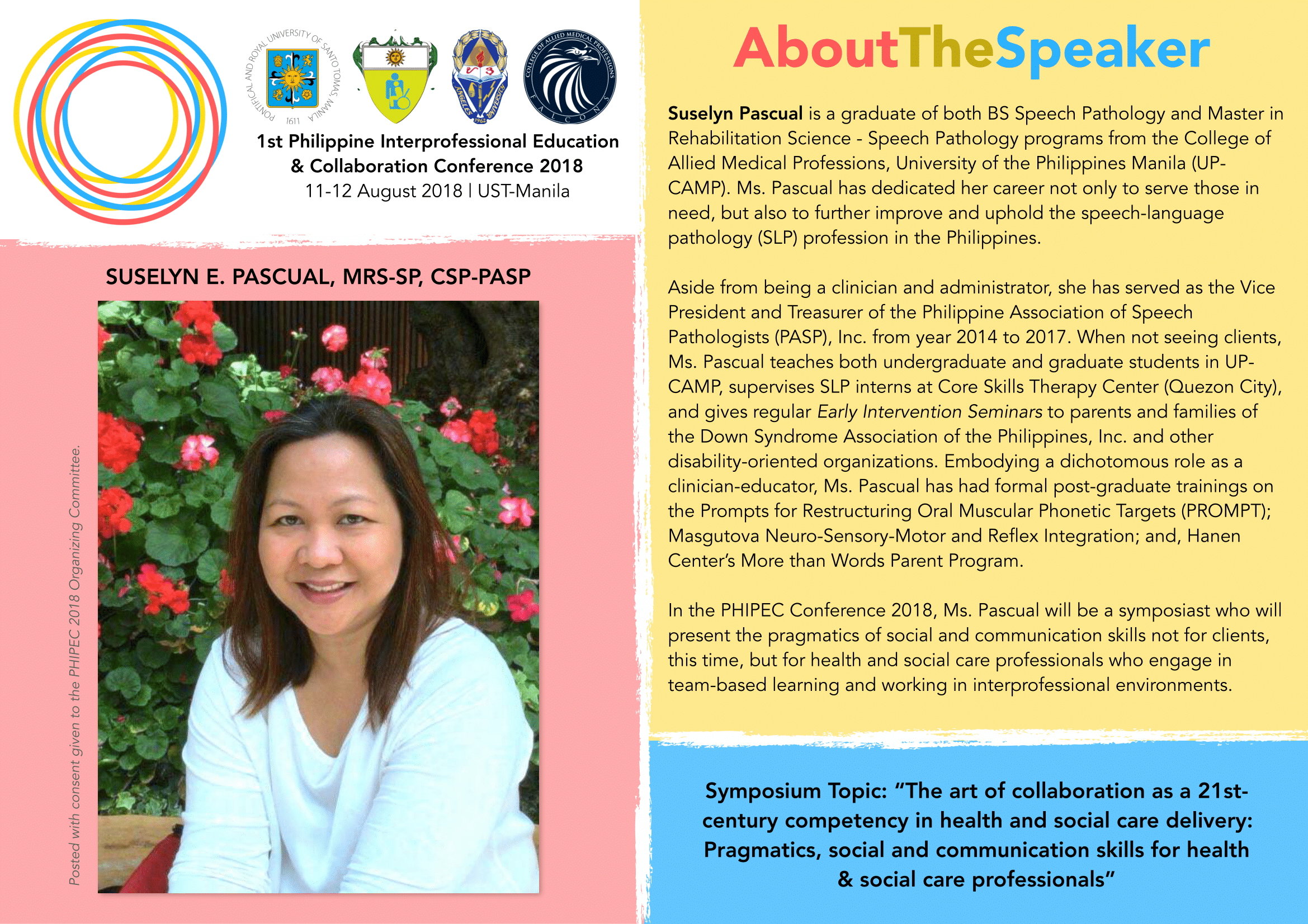 Suselyn E. Pascual, MRS-SP, CPS-PASP