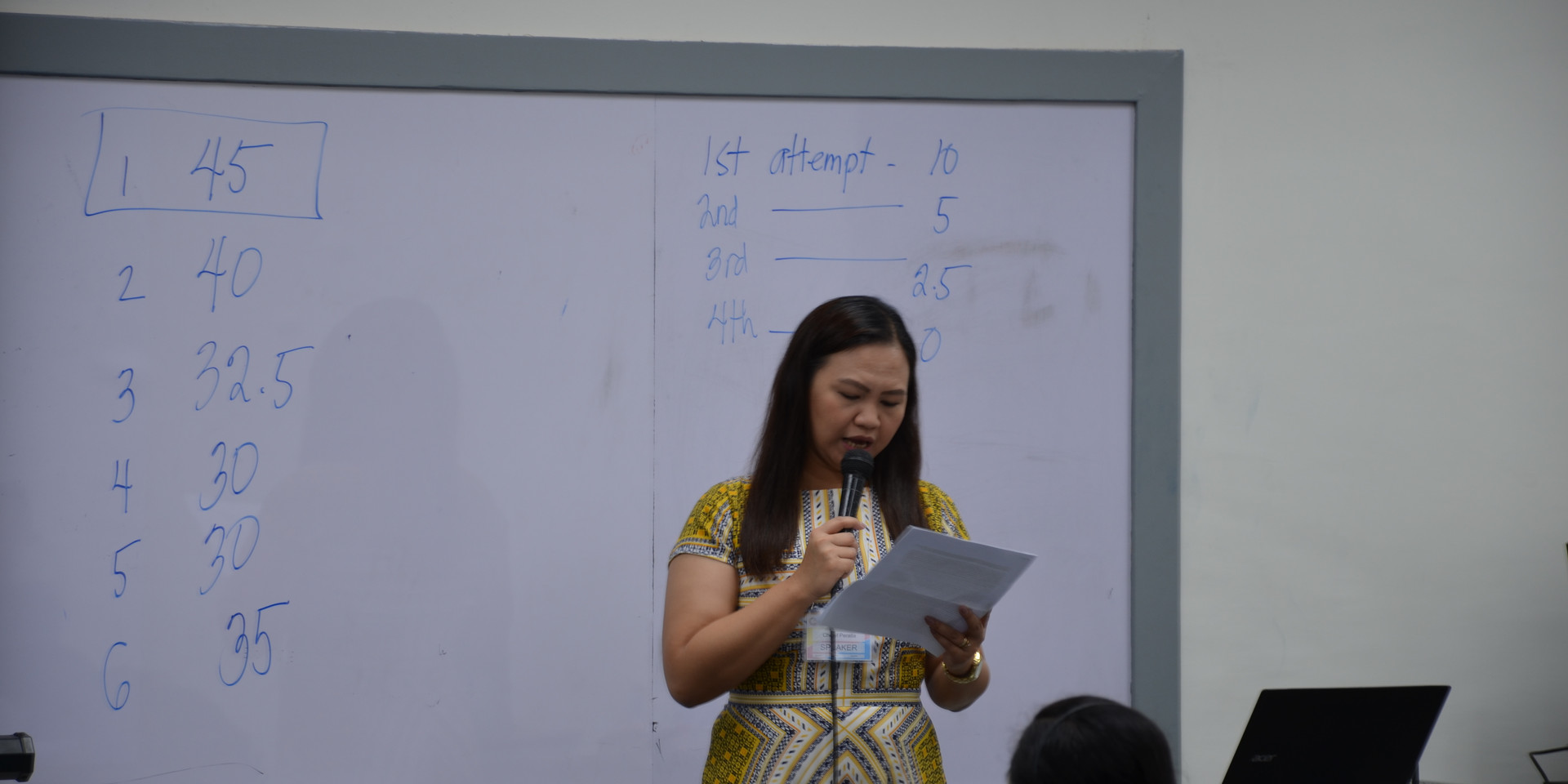 Dr. Peralta (Closing remarks)