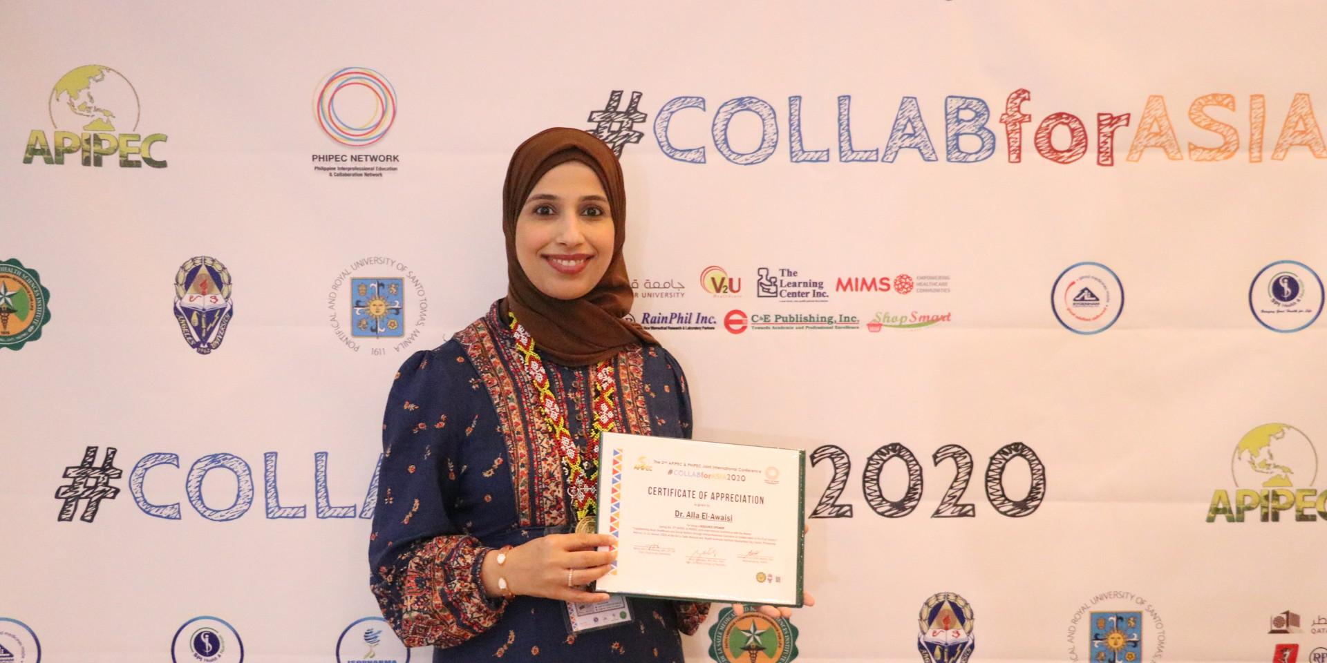 Dr. Alla El-Awaisi as a keynote speaker in C4A