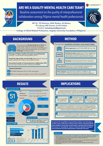 Poster Presentation at #ATBH9 Auckland