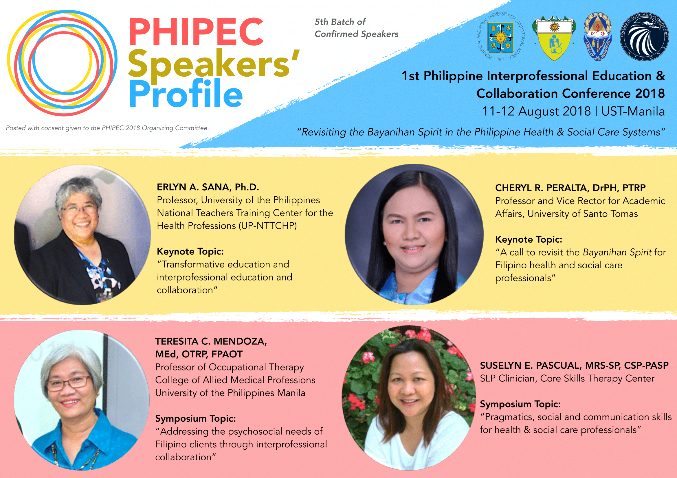 PHIPEC Speakers (Batch 5)