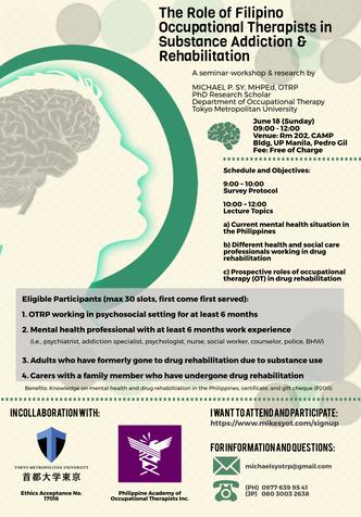Free Seminar and Research on Drug Addiction & Rehabilitation