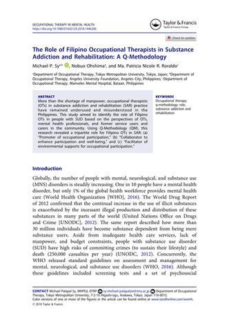 My 2nd International Publication (OTMH)!