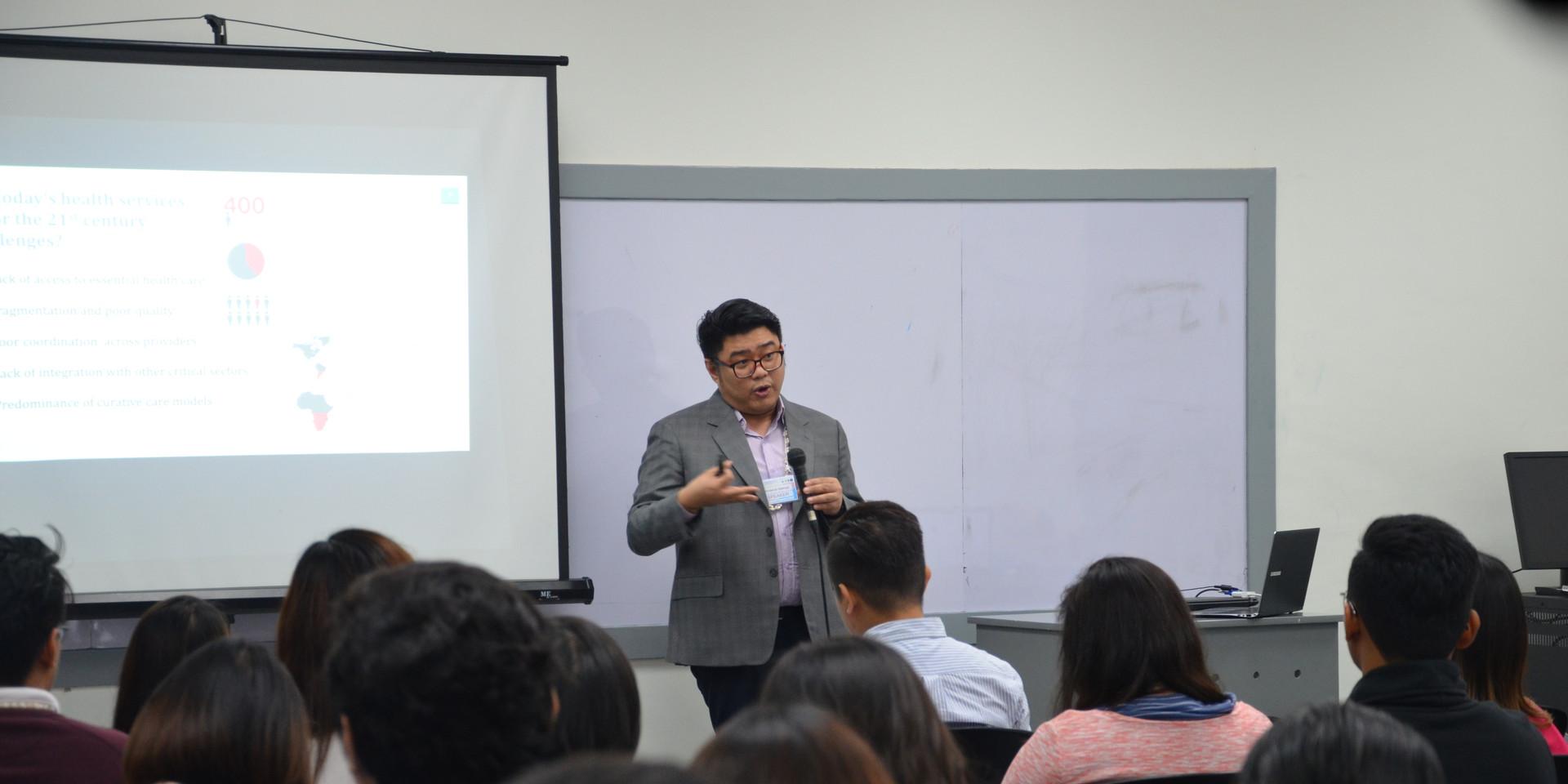 Eric Salenga (Keynote Speech)