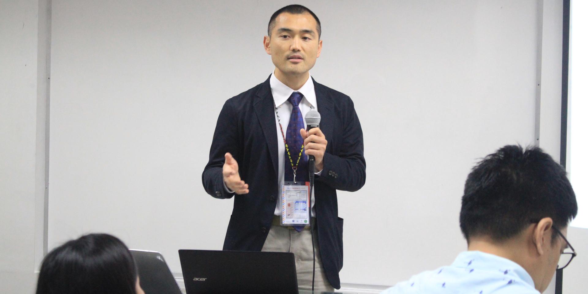 Dr. Ryuchi Ohta (Japan), Best Oral Presenter