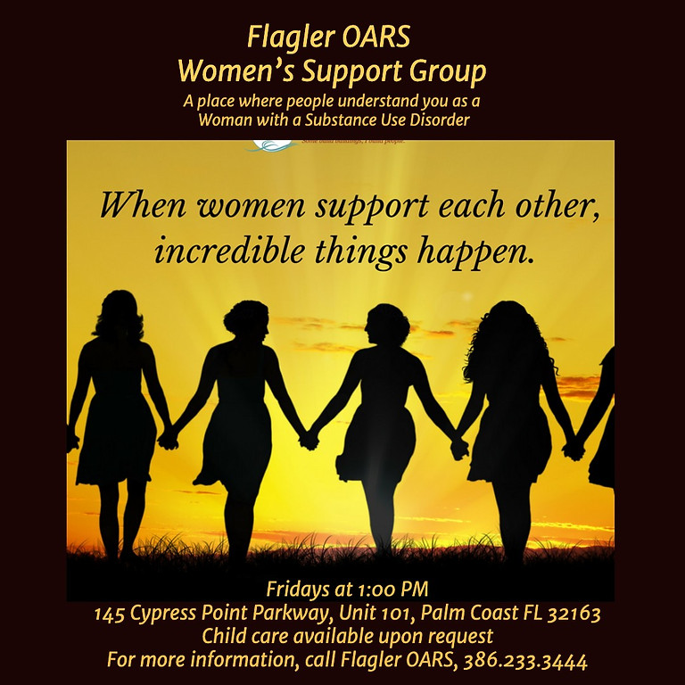 Women's Support Group with Flagler OARS