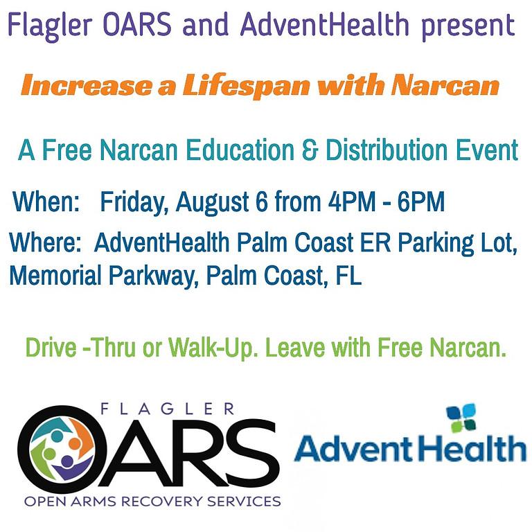 Increase a LifeSpan with Narcan