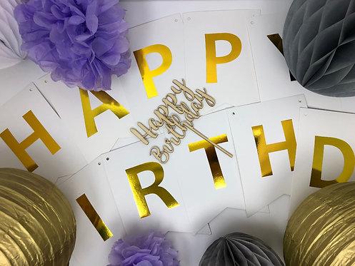 GENEVIEVE DECOR KIT : Bride-to-be, Baby or Birthday