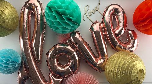 RACHEL DECOR KIT : Bride-to-be, Baby or Birthday