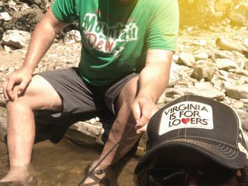 Playin' in the Water around Roanoke