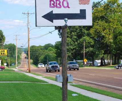Charlie's BBQ, Bruceton, Tennessee