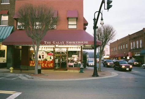 Galax Smokehouse, Galax, VA