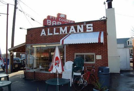 Allman's Bar-B-Q, Fredericksburg, VA