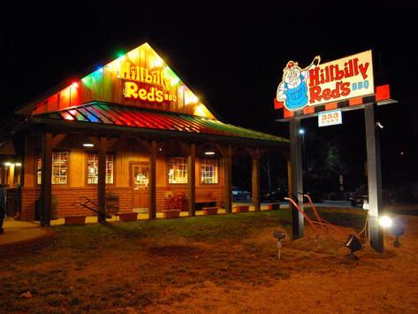 Hillbilly Red's BBQ, Sandston, Virginia