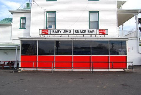 Baby Jim's Snack Bar, Culpeper, Virginia