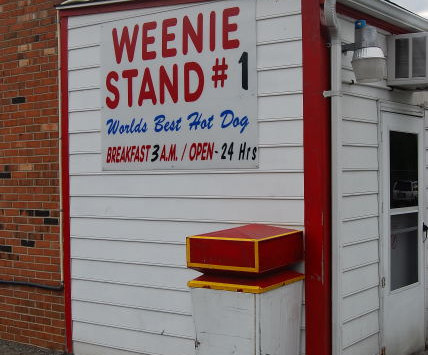 Weenie Stand #1, Lynchburg, Virginia